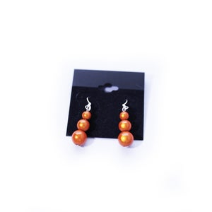 Image of Triple Bead Earrings