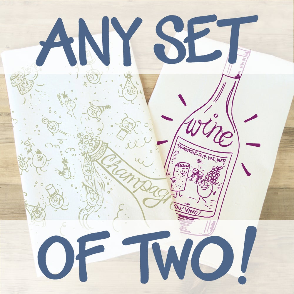 Image of Tea Towel Set of Two!