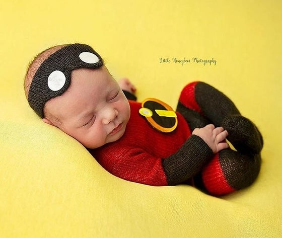Image of Incredibles Inspired Jammy/Headband Set
