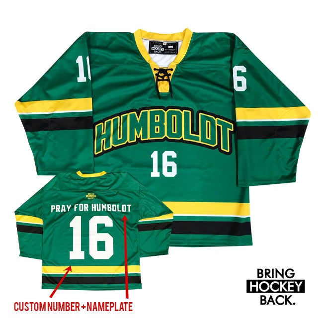 Image of Humboldt Hockey Jersey [Donation / Shipping Included]