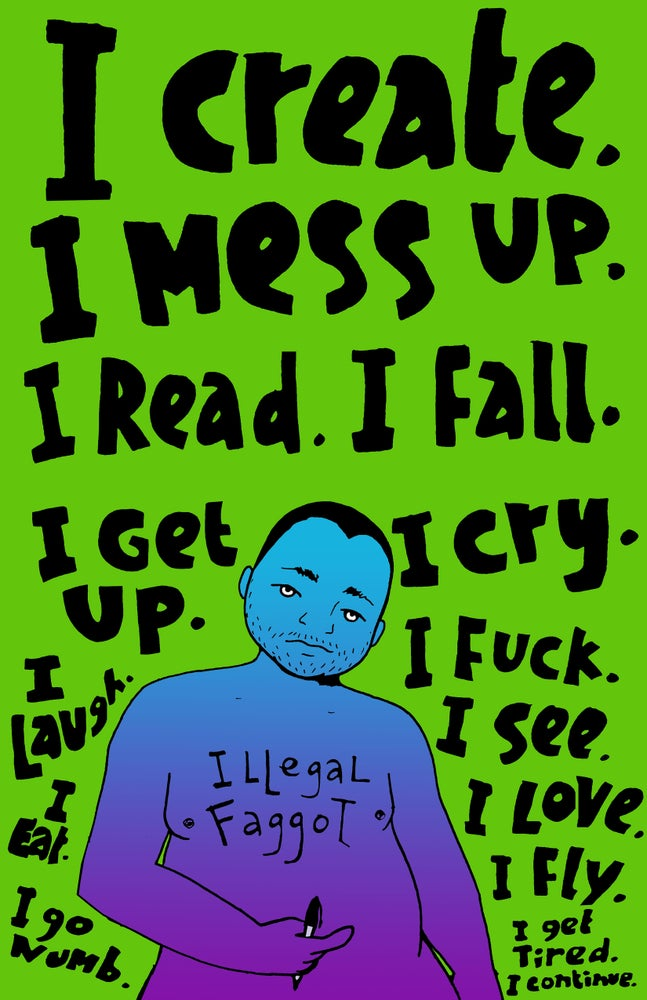 Image of I Read. I Create. I Mess Up.