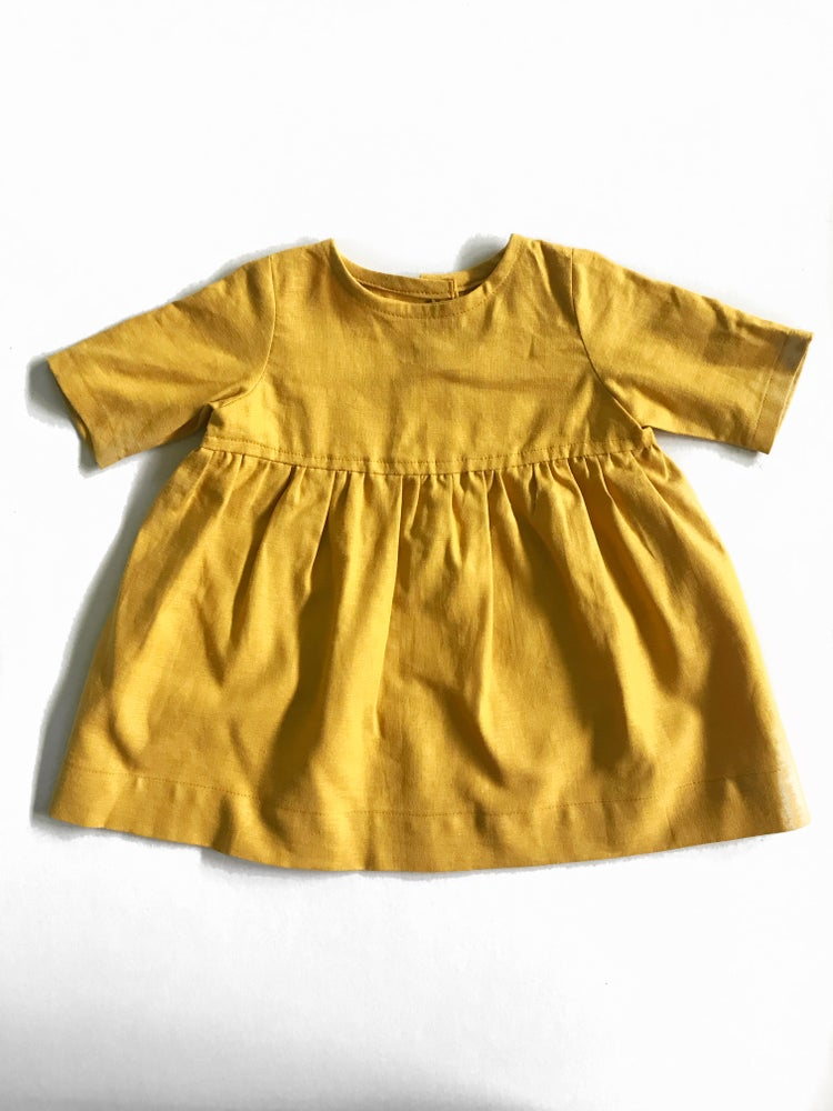 Image of [12 months] Twirl Dress in mustard