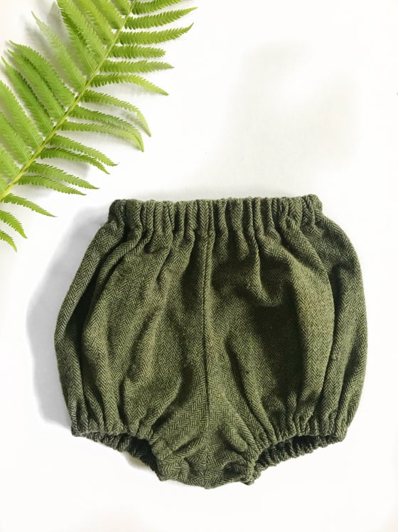 Image of [6 months] High waist Bloomers in Olive