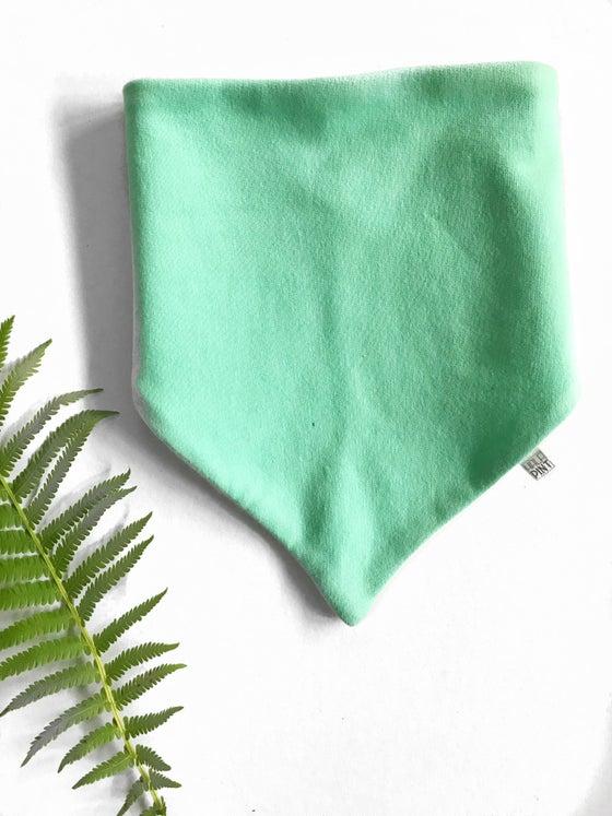 Image of Toddler Bandana Bib in mint