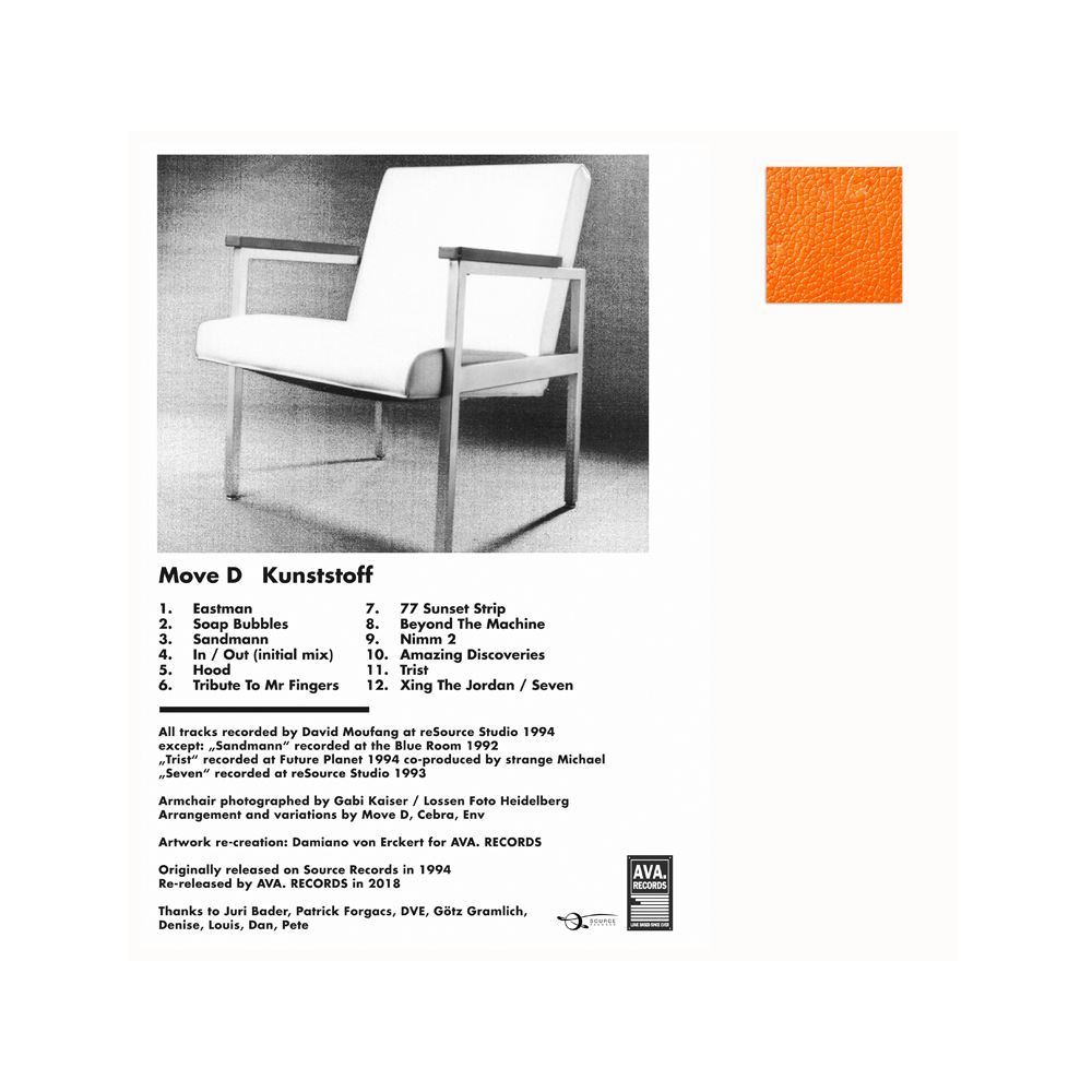 Image of MOVE D / KUNSTSTOFF / REISSUE / AVA.LP006