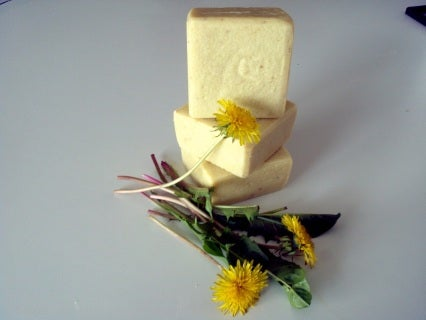 Image of Dandelion Soap with oatmeal   -Pure & Simple