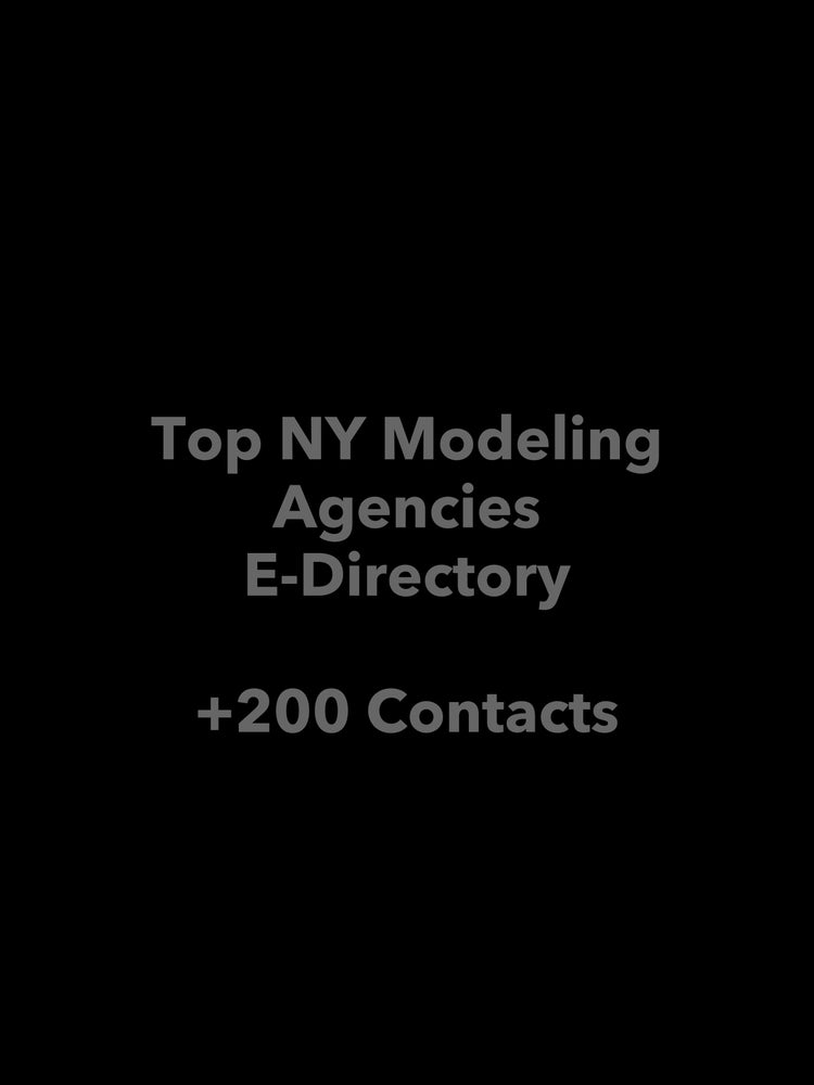 Image of Top NY Modeling Agencies E-Directory
