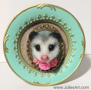 Image of Opossum Brooch Customs