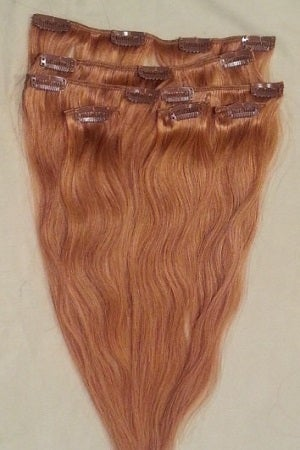 Image of Straight Brazilian Blonde #27 12pcs. ClipIns
