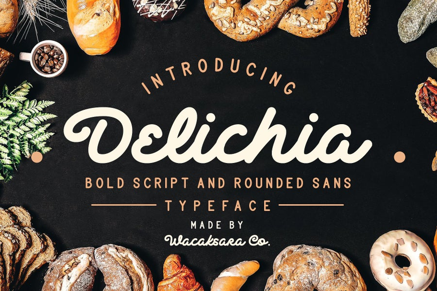 Image of Delichia Font