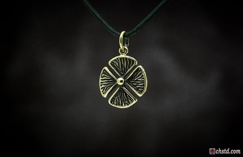 Image of Pendant : CLOVER : Necklace / keychain