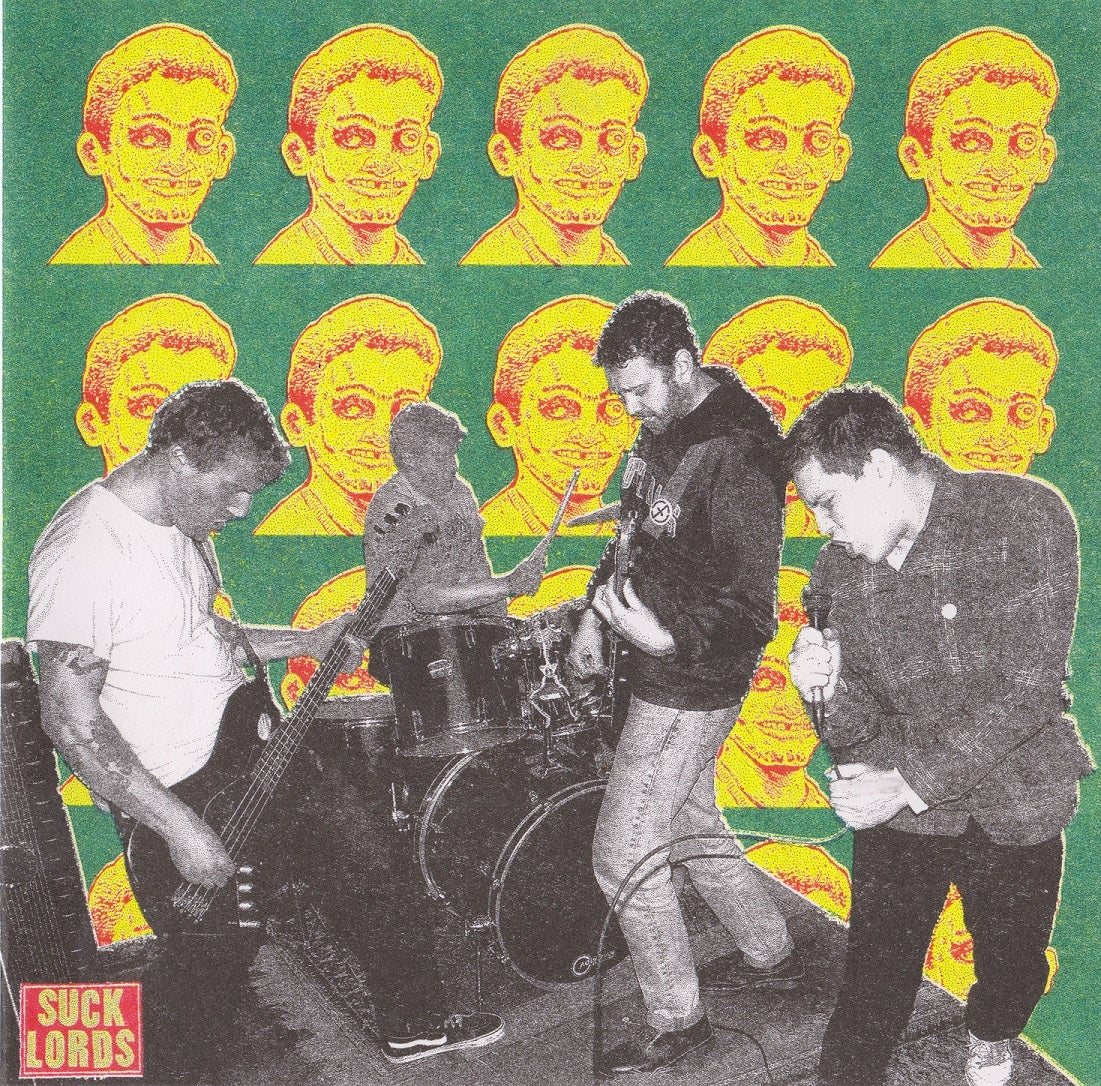 "Image of SUCK LORDS ""NEW LORDS MUSIC"" 7"""