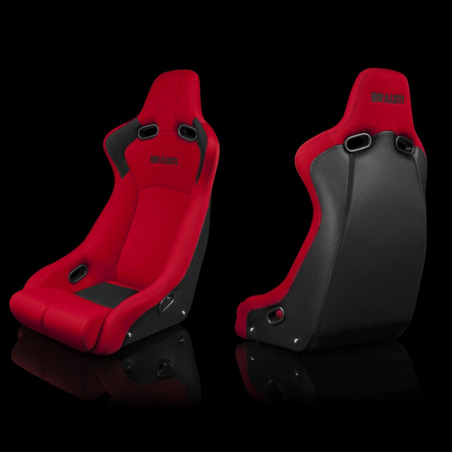 Image of Venom R - Braum Racing Fixed Back Seats (Single Seat)