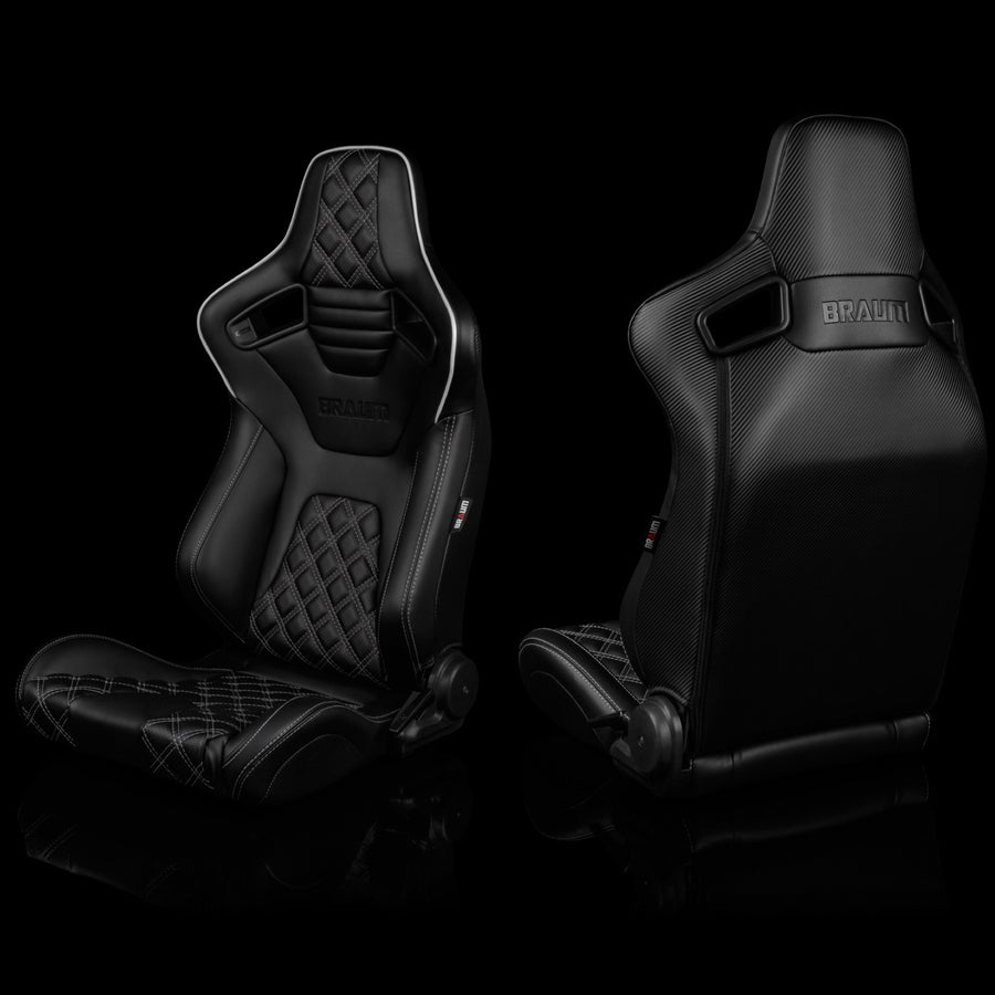 Image of Double Diamond Edition - Elite X Series - Universal Braum Racing Seats (Pair)