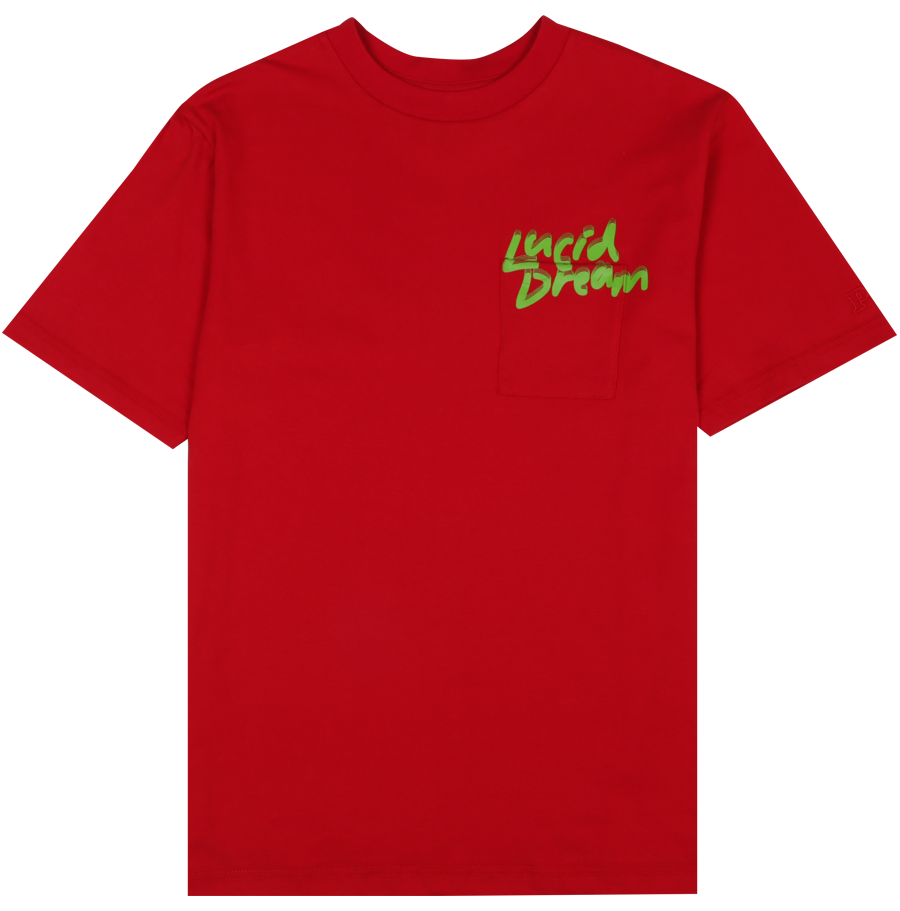 Image of PUBLIC CULTURE - LUCID LOGO TEE (RED)