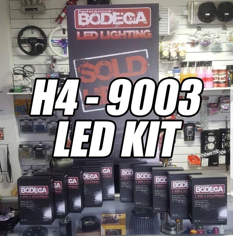 Image of Performance bodega h4, 9003 led set