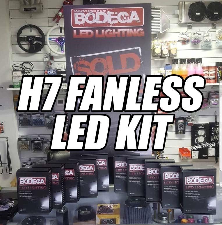 Image of Performance Bodega h7 fanless led headlights