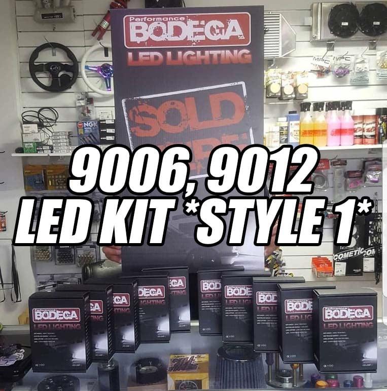 """Image of Performance bodega """"9006, 9012"""" led set (style 1)"""