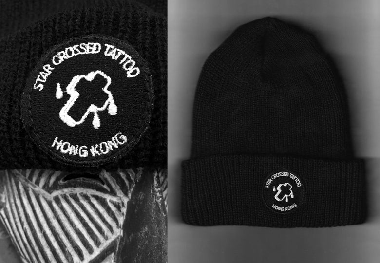 Image of Star Crossed Tattoo Beanie