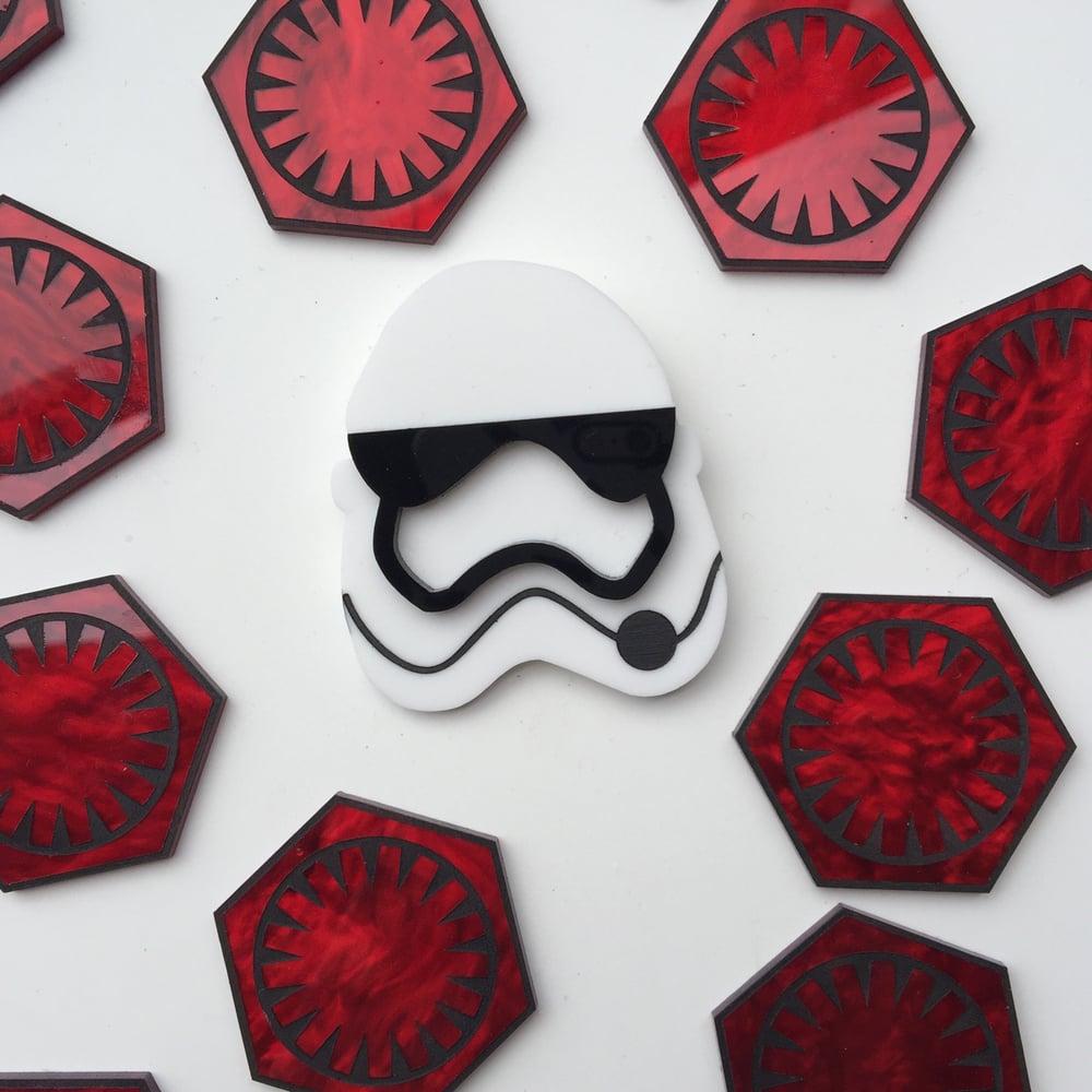 Image of Trooper Brooch