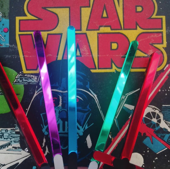 Image of Light Saber Brooches (6 types)