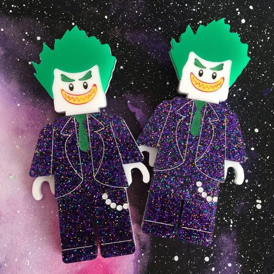 Image of Joker Lego Brooch