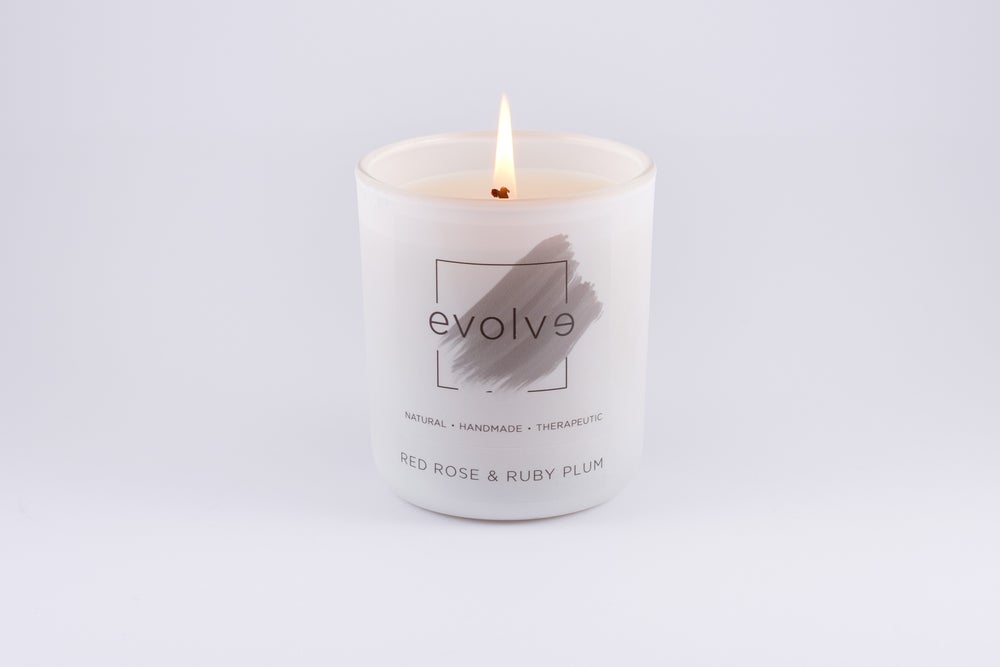 Image of White Matte Soy Candle Large 350g