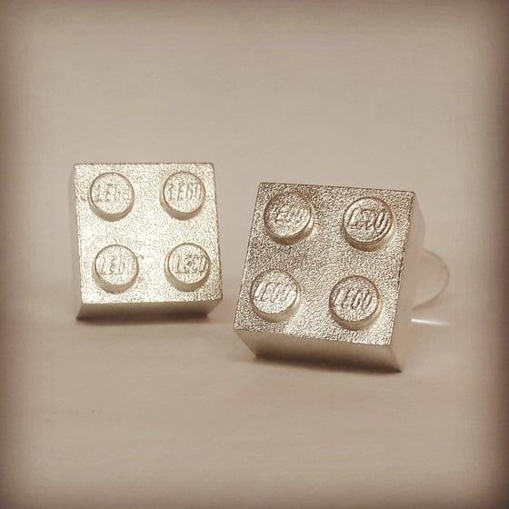 Beeld van Lego manchetknopen / cufflinks