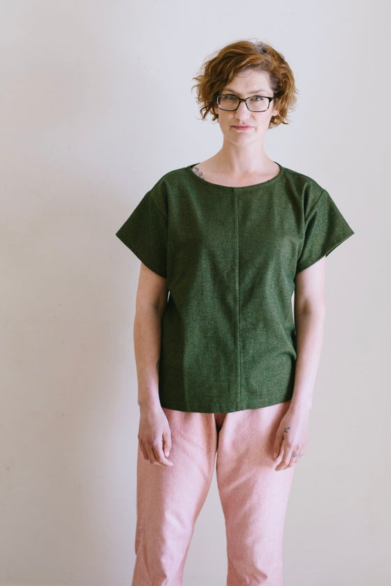 Image of Kale Pyjama Top