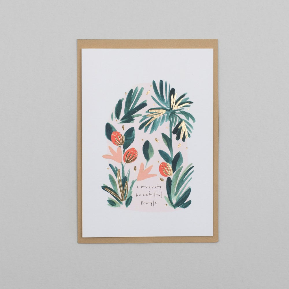 Image of Congrats Beautiful People Card