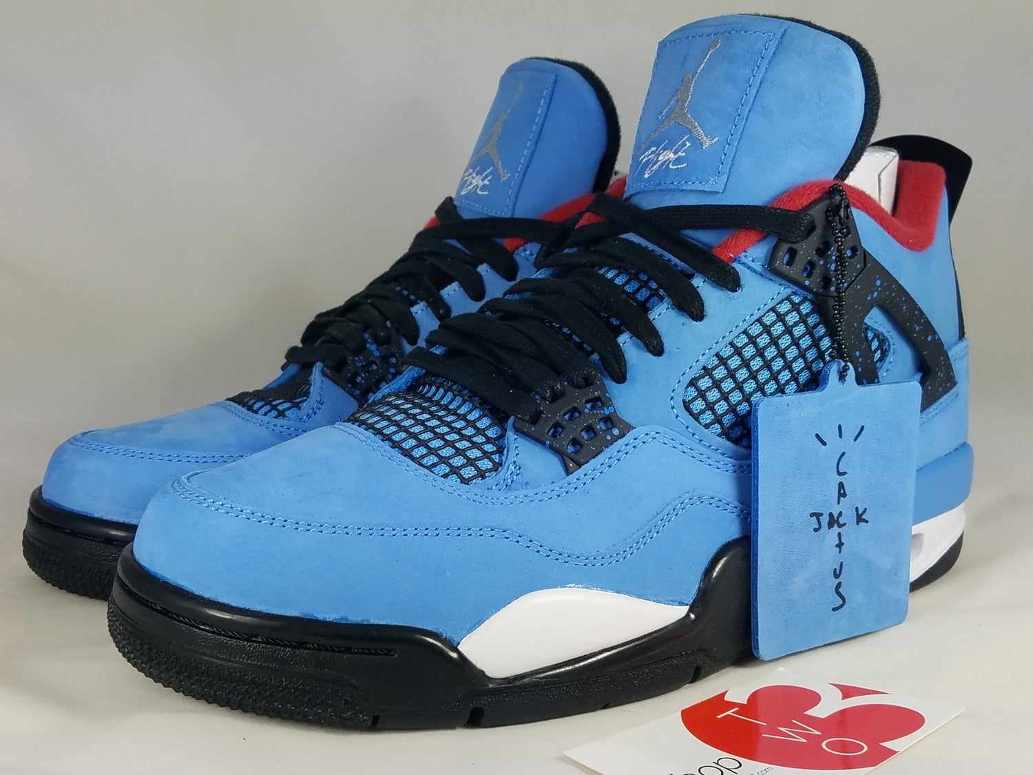 "Image of Air Jordan 4 Retro ""Cactus jack"""