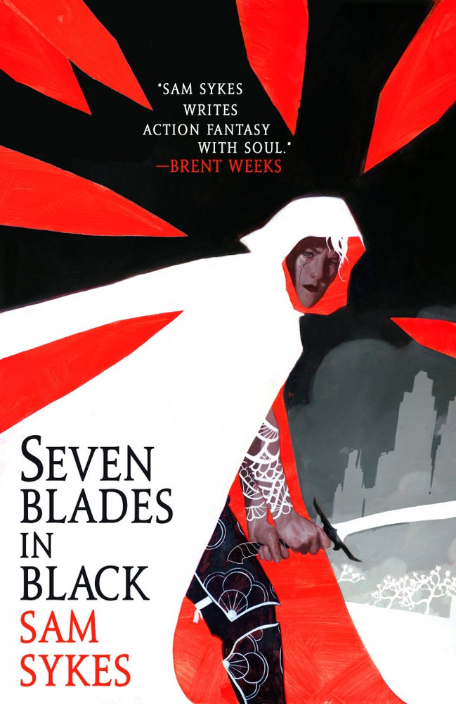 Image of Seven Blades In Black Cover