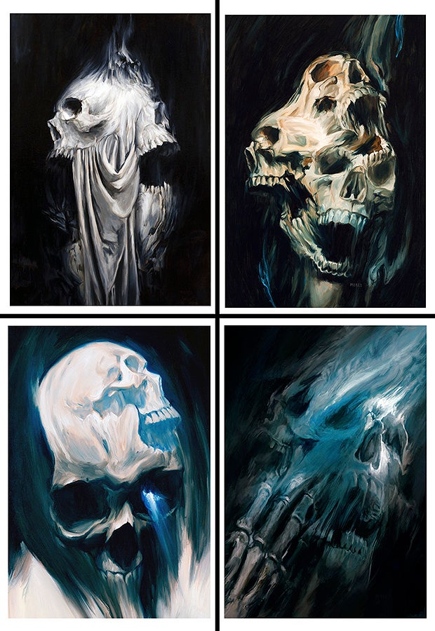 Image of Skulled Up limited print set