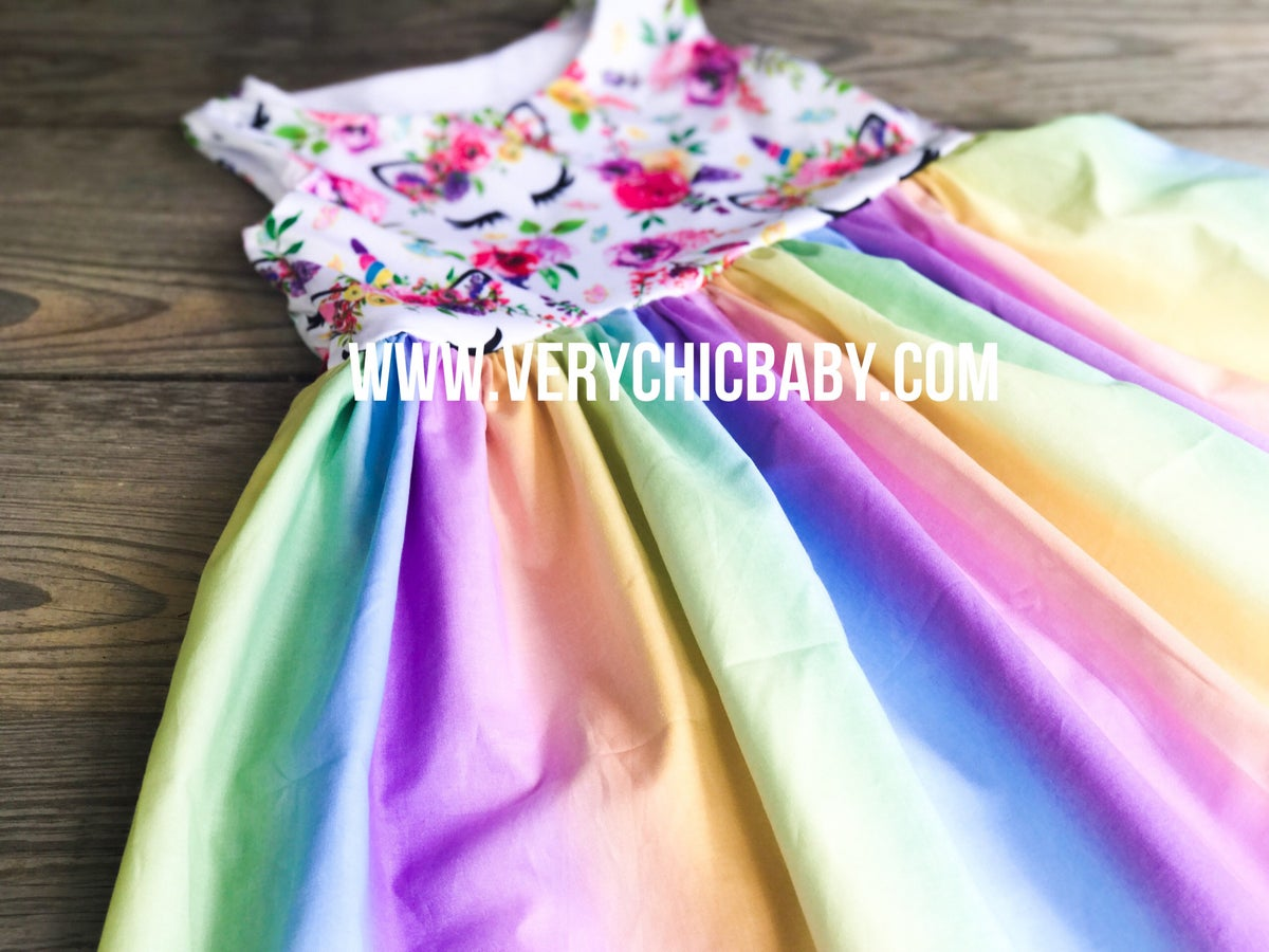 Image of Boho Unicorn Dress
