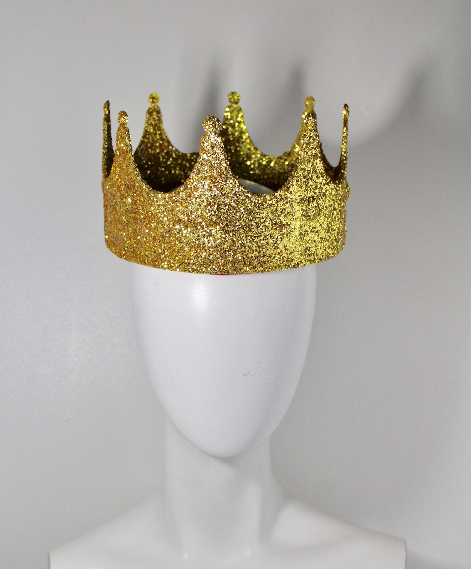 Image of Gold Glitter Crown