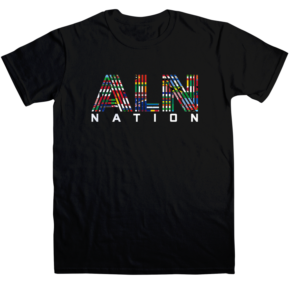 Image of ALN Nation Unisex Black T-Shirt