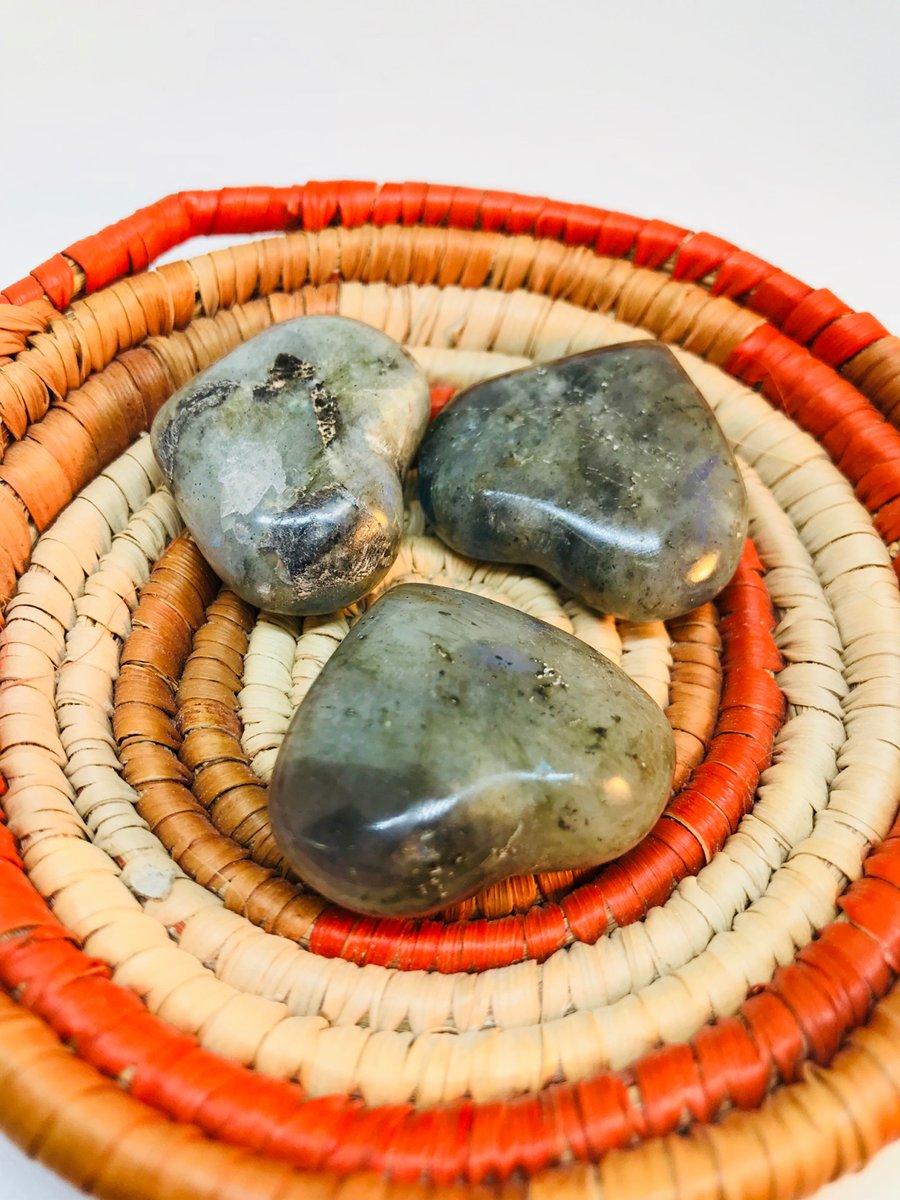 Image of Labodorite hearts
