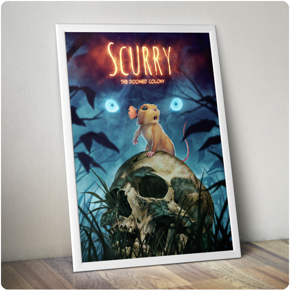 "Image of Scurry: The Doomed Colony 32"" X 24"" Poster"