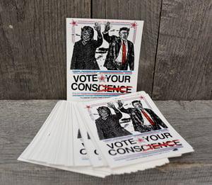 Vote Your Conscience - Men's or Women's cut Tee
