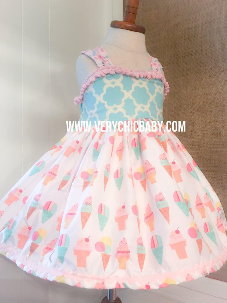 Image of Ice Cream Cone Dress