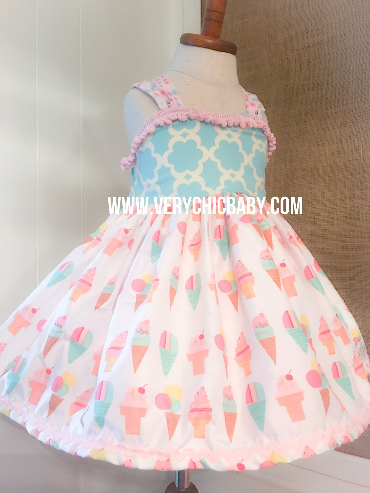 Image of Ice Cream Cone Dress