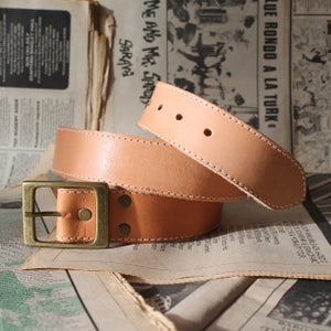 Image of Tan Belt 29-34""