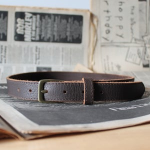 Image of Chocolate Belt 29-34""