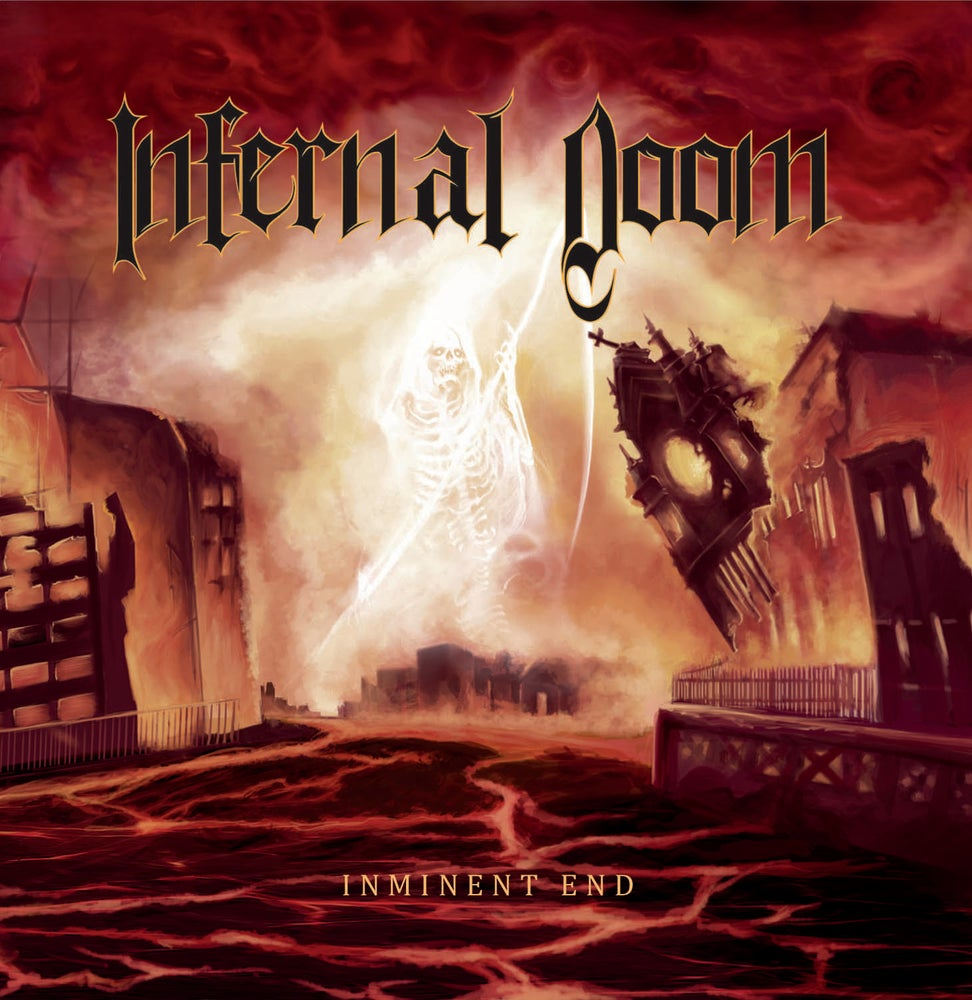 Image of INFERNAL DOOM (chi) Inminent End [chaotic brutal records] $7.500