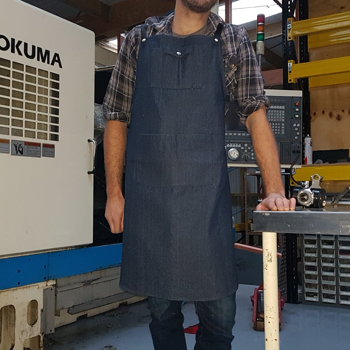 Image of Workshop Apron- Denim