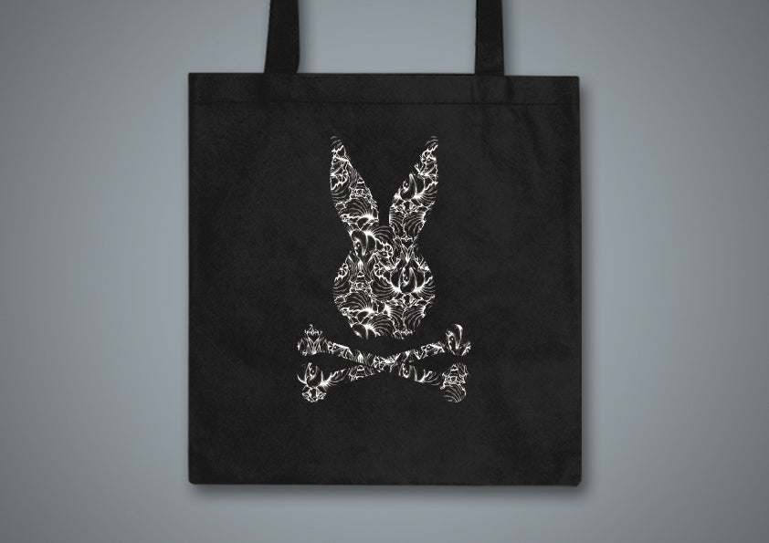 Image of Toxic Hare Black Tote Bag
