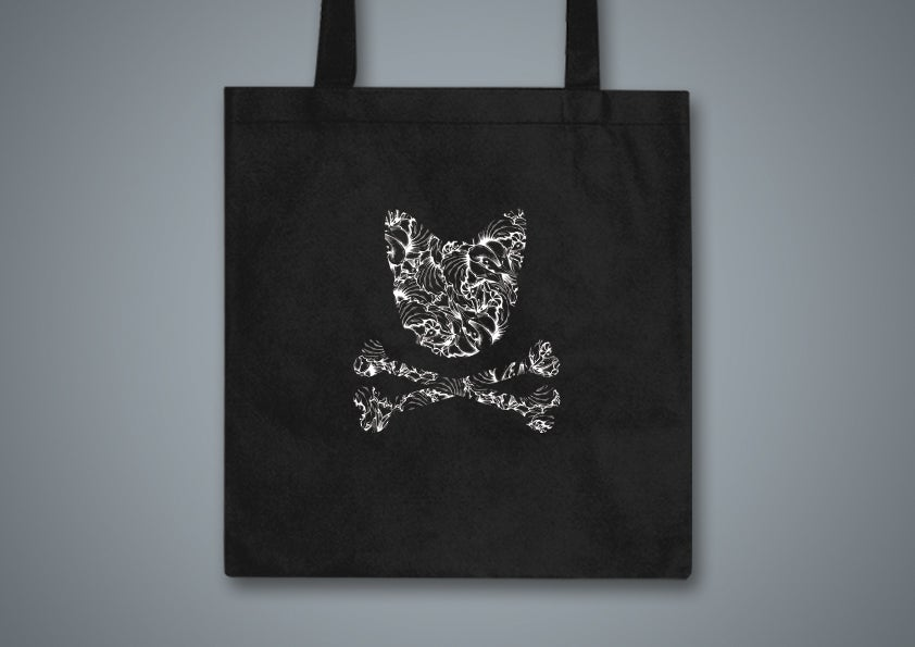 Image of Toxic Kitty Black Tote Bag