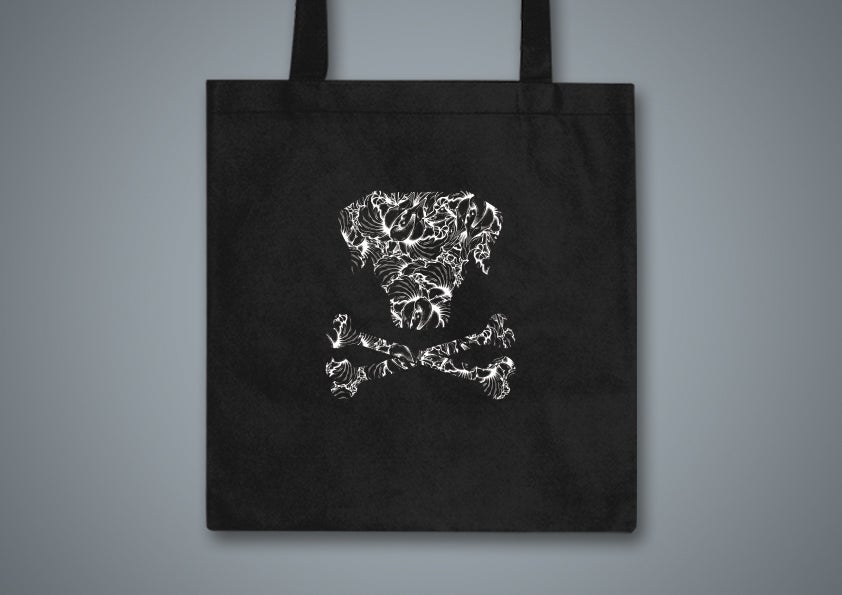 Image of Toxic Hound Black Tote Bag
