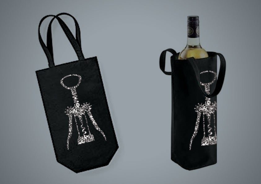 Image of Screw Black Bottle Bag