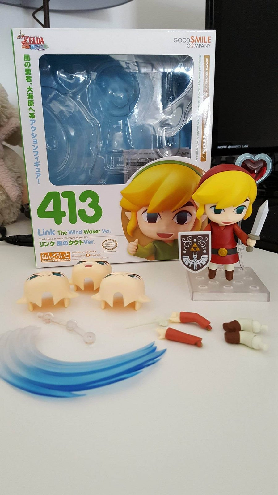 Image of Zelda no Densetsu ~ Link ~ Nendoroid #413 The Wind Waker Ver. by Good Smile Company
